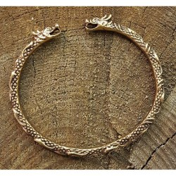 Brons armband drake vikinga