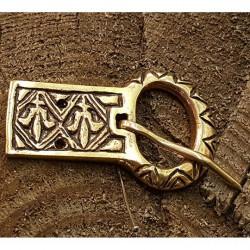 Brons bältes spänne vikingatid