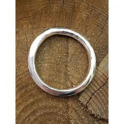 Bältes ring i silverfärgad...