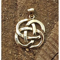 Keltisk knut häng smycke i...