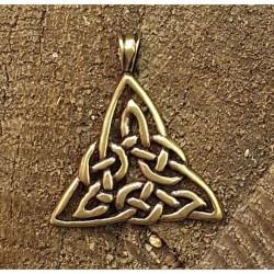 TRIQUETRA Keltisk knut häng...