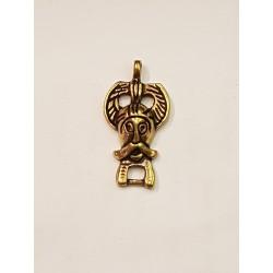 Viking hänge i brons