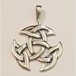 Keltiskt häng smycke i silver