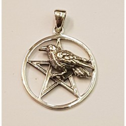 Pentagram med korp häng...