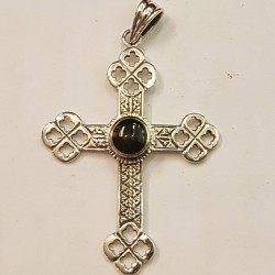 Gothiskt silver kors