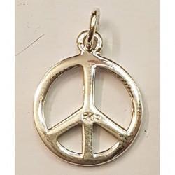 Peace hängsmycke i silver...