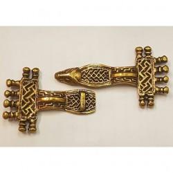 Bygel fibula i brons
