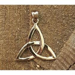 Triquetra häng smycke i brons