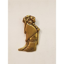 Valkyria alsike hänge i brons