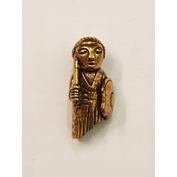 Freja /sköldmö hänge i brons