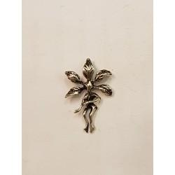 Mandrake hänge i silver