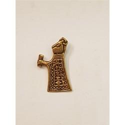 Valkyria hänge i brons