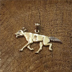 Hundhänge i brons