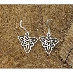 Keltiskt Triskele örhänge i...