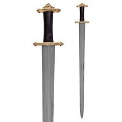 Viking Sword med Mässings hilt