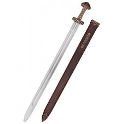 Viking Sword med brons Hilt