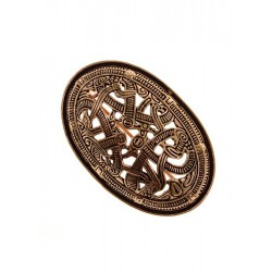 Viking Oval Brooch Morberg...