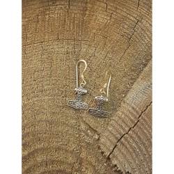 Torshammare, Brons örhänge