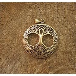 Yggdrasil hänge i brons
