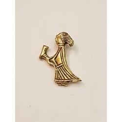 Valkyria öland hänge i brons