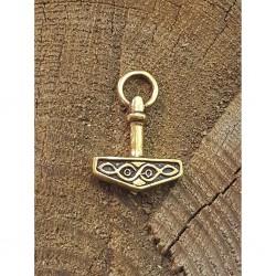 Torshammare i brons hänge