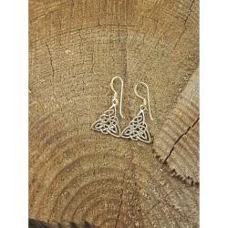 Keltisk Triskele örhängen i...