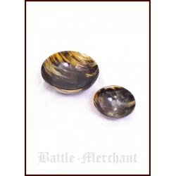 Hornskål, 10 cm i diameter